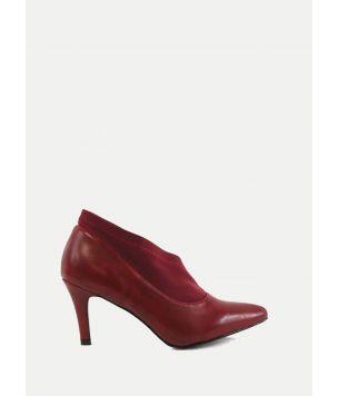 Zapatos punta tacón