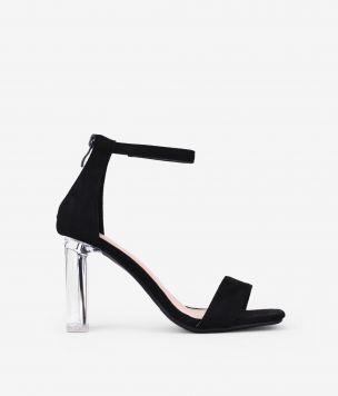 Sandalias negras pulsera