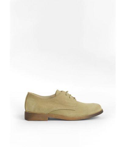 Zapatos planos en piel