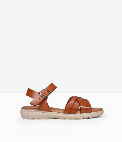 Sandalias cuero piel