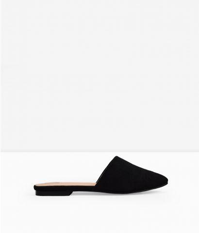 Zapato abierto plano
