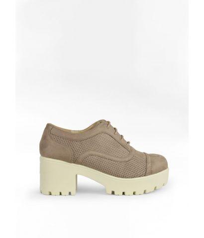 Zapatos plataforma cordones