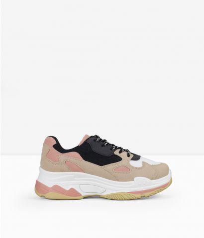 Zapatillas rosas plataforma