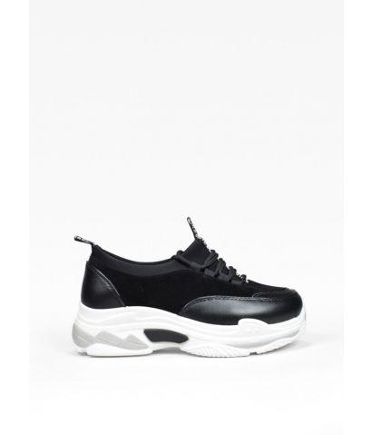 Zapatillas negras plataforma