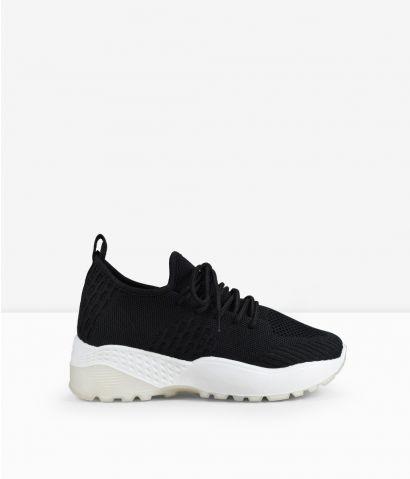Zapatillas tela plataforma
