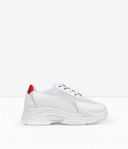 Zapatillas blancas rejilla