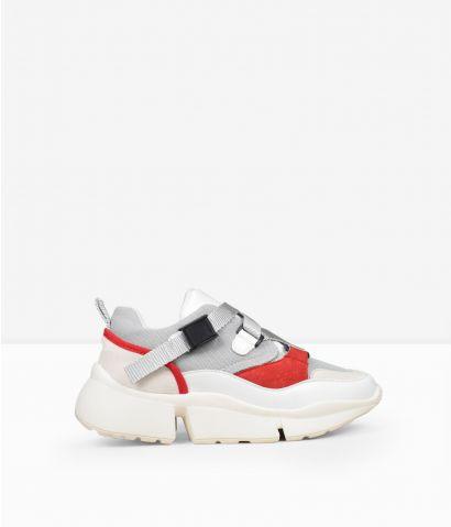 Zapatillas plataforma gris
