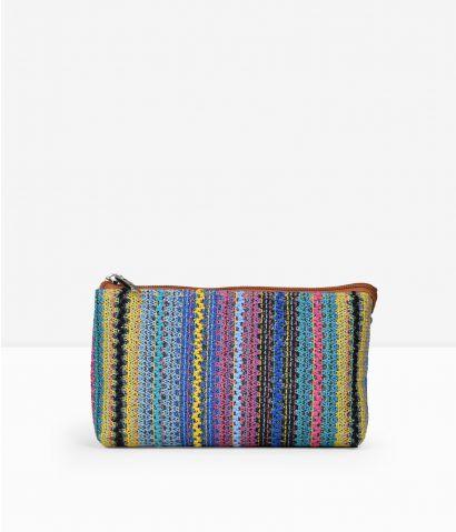 Neceser textil multicolor