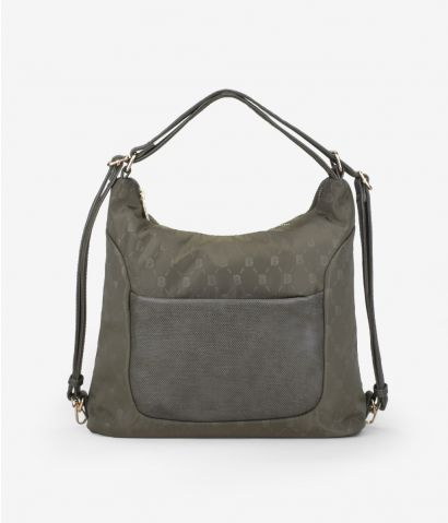 Bolso mochila con cremallera