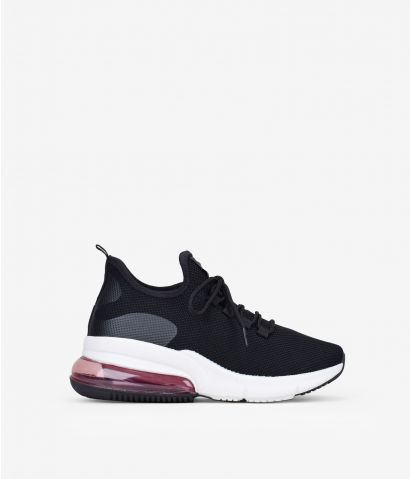 Zapatillas negras textil