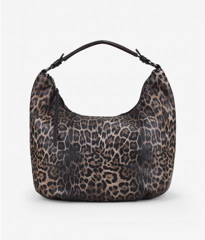 Maxi bolso en leopardo