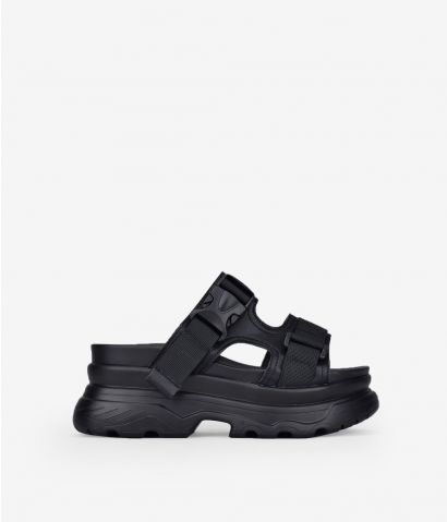 Sandalias deportivas negras