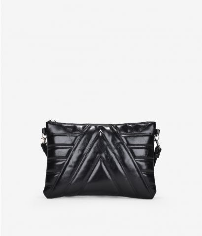 Bolso rectangular con relieve