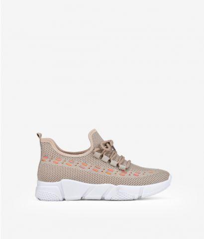 Zapatillas textil cordones