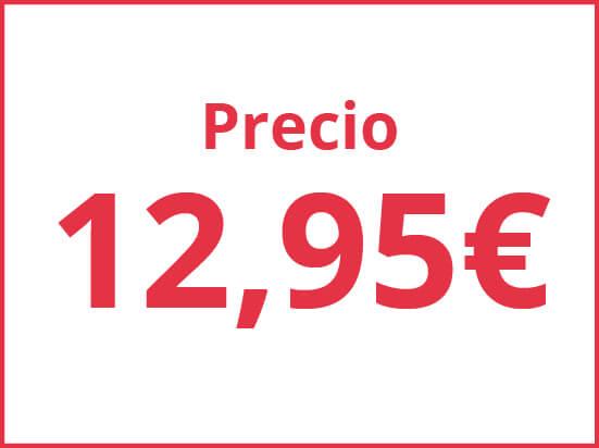 Precios por 12.95