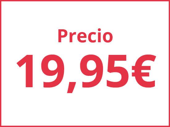 Precios por 19.95